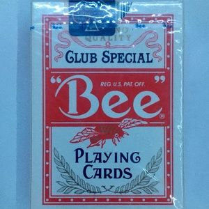Rare Club Special Bee playing cards ♦️